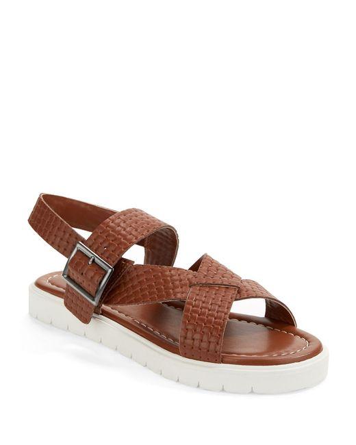 Kelsi Dagger Brooklyn | Brown Deedee Flatform Sandals | Lyst