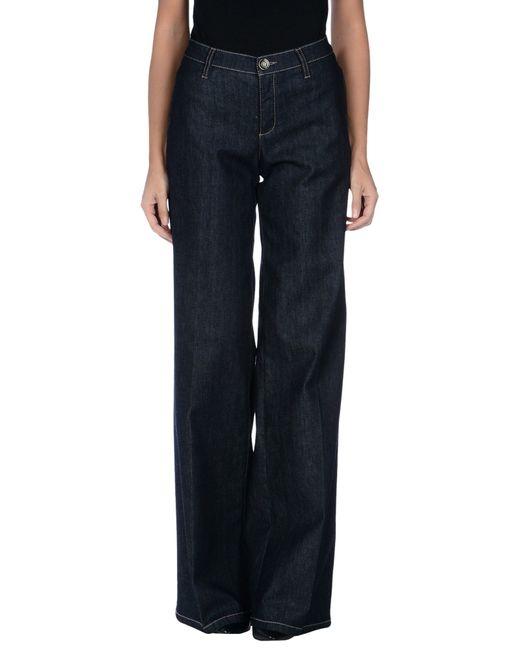 Trussardi | Blue Denim Pants | Lyst