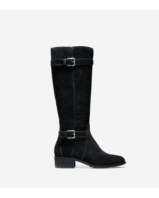 cole haan putnam waterproof boot 40mm in black black