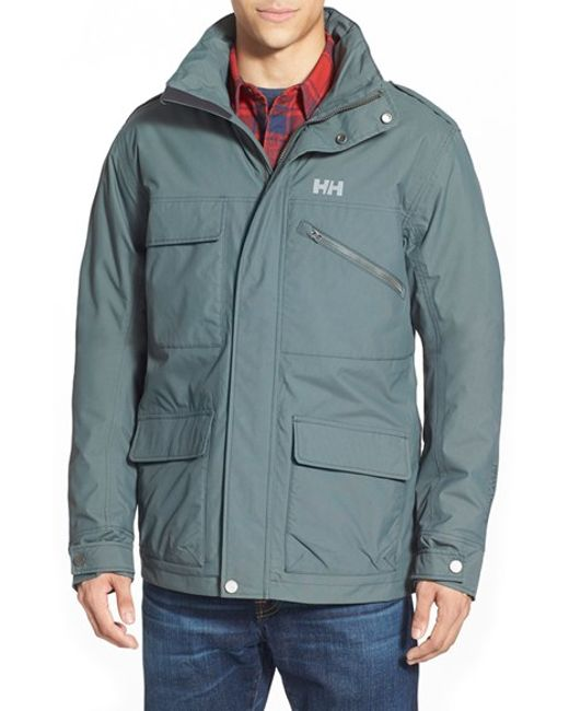 Helly Hansen | Gray 'universal' Moto Rain Jacket for Men | Lyst