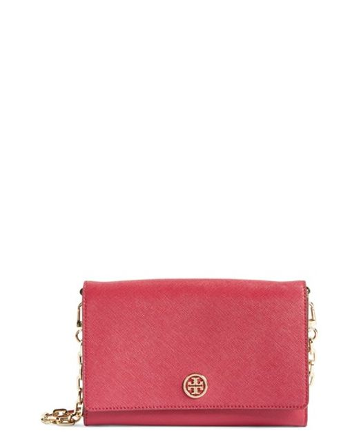 Tory Burch | Pink Marion Embossed Zip Coin Case | Lyst