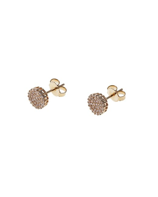 Demitasse | Metallic Demi Dot Earing | Lyst