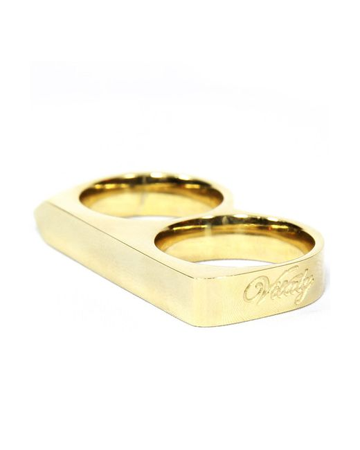 vitaly treo ring in gold in gold lyst