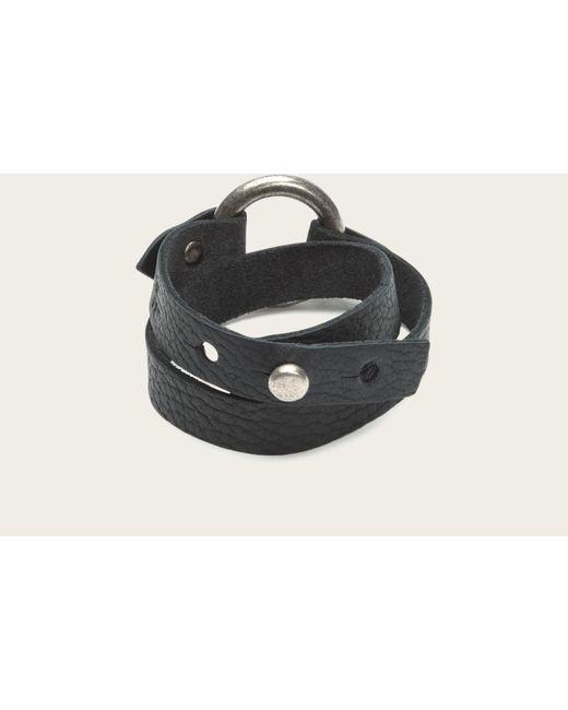 Frye | Black Harness Wrap Cuff | Lyst