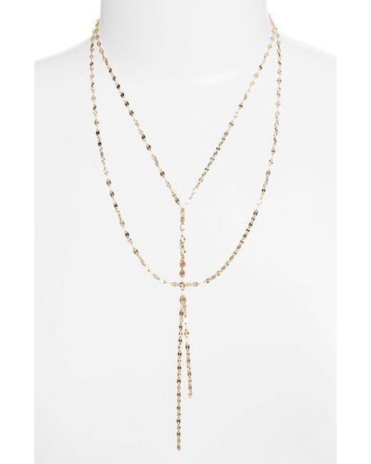 Lana Jewelry | Yellow 'mega Blake' Lariat Necklace | Lyst