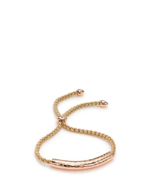 Monica Vinader | Natural Essencia Friendship Bracelet | Lyst