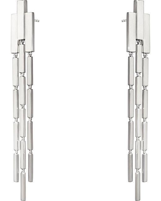 Georg Jensen | Metallic Aria Sterling Silver Chandelier Earrings | Lyst