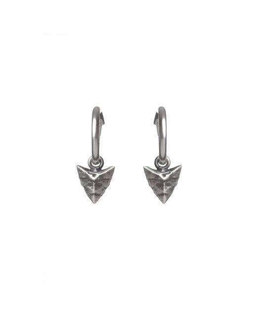 Rachel Entwistle | Metallic Modern Primitive Mini Hoops Silver | Lyst