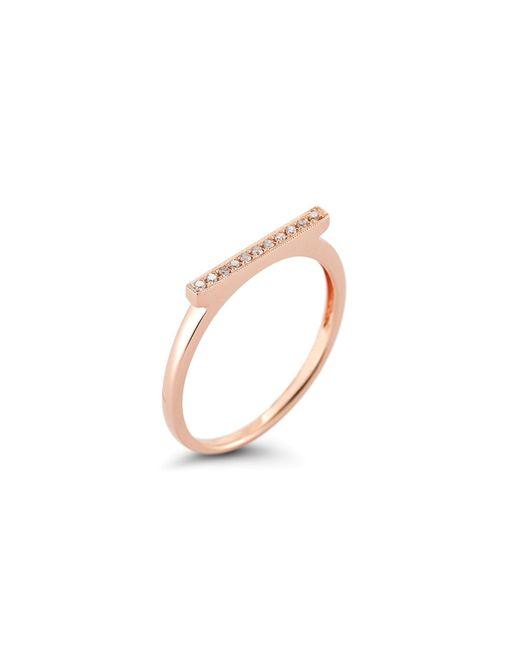 Dana Rebecca | Pink Sylvie With Diamond Ring | Lyst