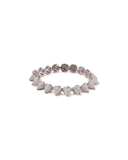 Eddie Borgo | Metallic Pave 17 Cone Bracelet | Lyst
