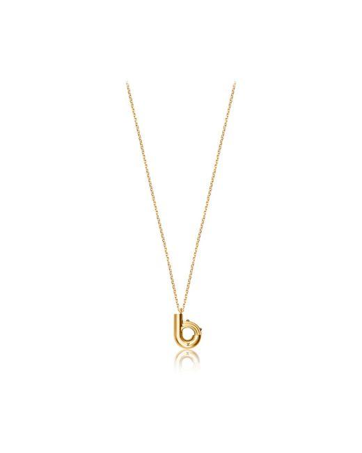 Louis Vuitton | Metallic Lv & Me Necklace, Letter B | Lyst