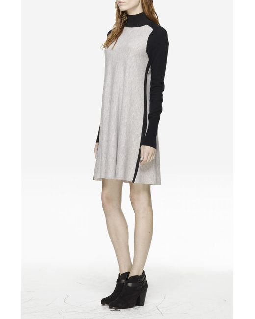 Rag & Bone | Gray Francine Sweater Dress | Lyst