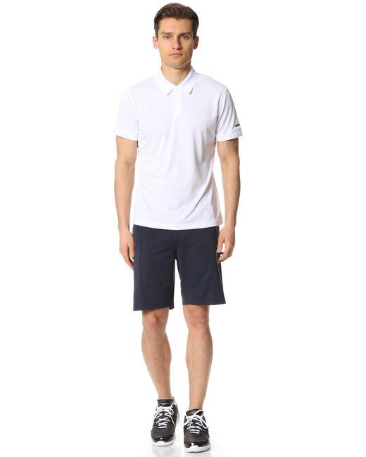 Porsche Design Gym Shorts In Blue For Men Night Navy
