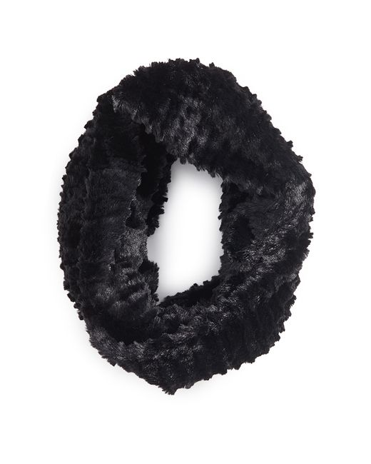 Forever 21 | Black Faux Fur Infinity Scarf | Lyst