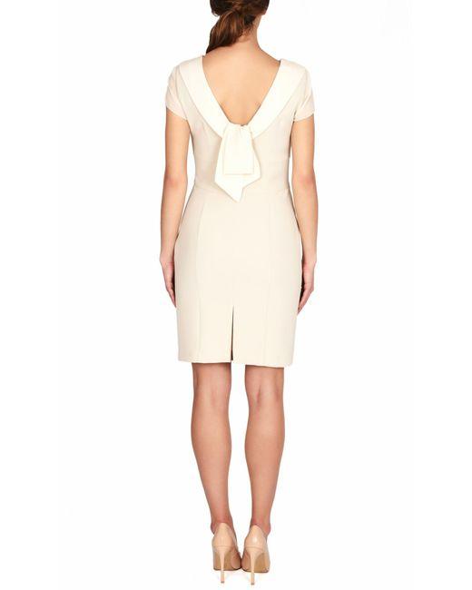 James Lakeland | Natural Bow Detail Back Dress | Lyst