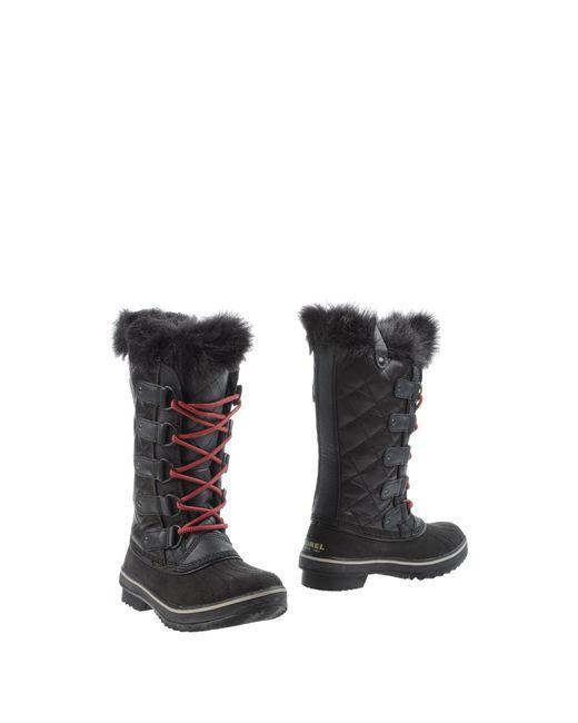 Sorel | Blue Tofino Nylon And Rubber Boots | Lyst