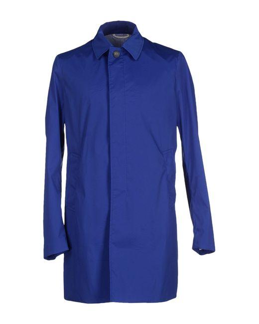 Obvious Basic | Blue Full-length Jacket for Men | Lyst