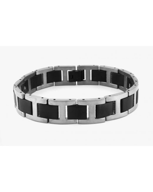 Tateossian | Black Magnetic Balance Bracelet In Titanium With Germanium Stones for Men | Lyst