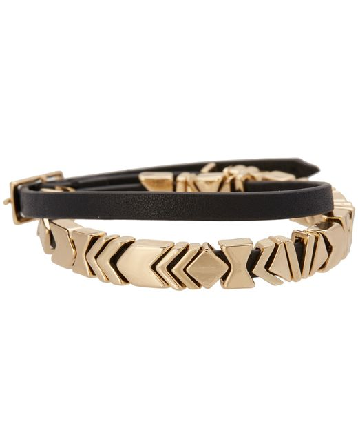 House of Harlow 1960 | Black Aztec Wrap Bracelet | Lyst