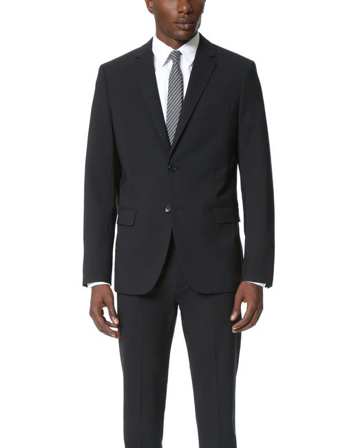 Theory Wellar Suit Jacket In Black For Men Lyst