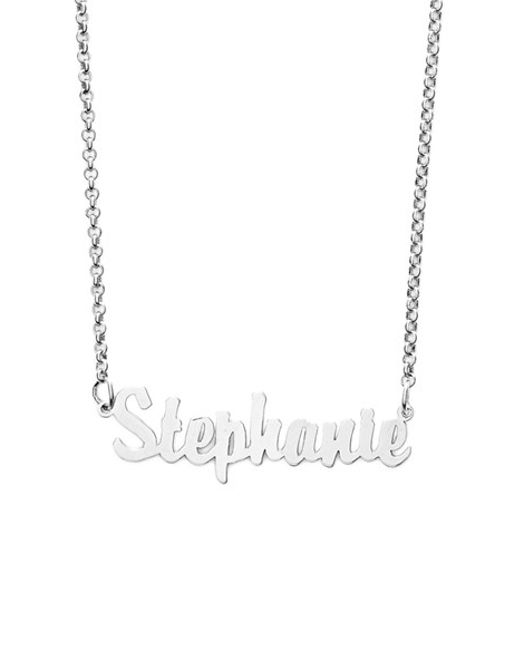 Argento Vivo | Metallic Personalized Script Name Necklace | Lyst