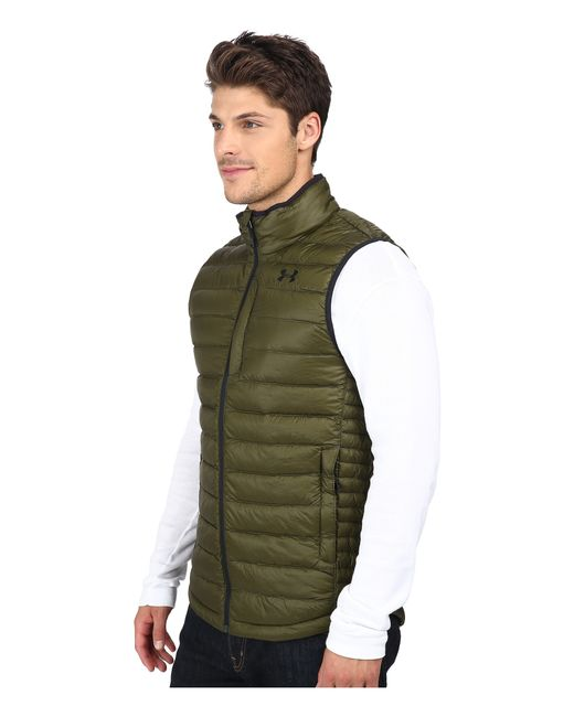 Under Armour | Green Ua Coldgear Infrared Turing Vest for Men | Lyst