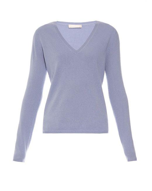 'S Max Mara   Blue Visiera Sweater   Lyst