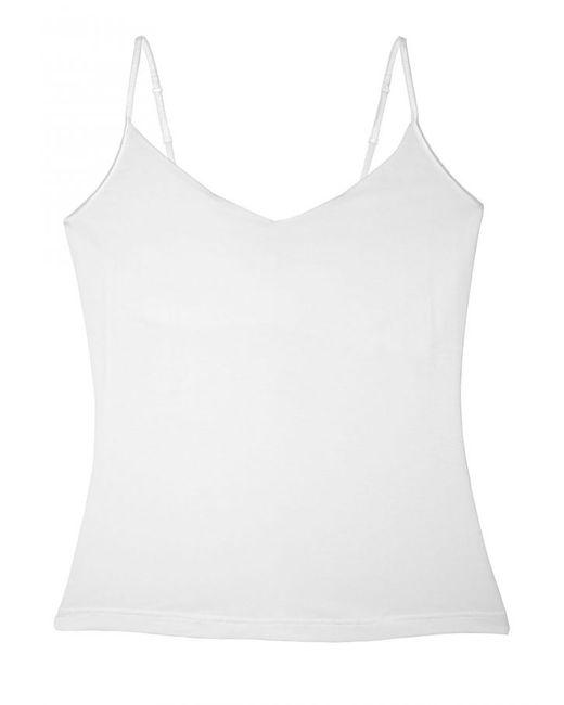 Cosabella | White Talco Long V-neck Camisole | Lyst