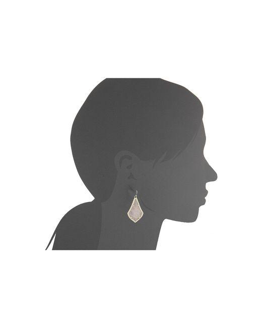 Kendra Scott | Metallic Alex Earring | Lyst