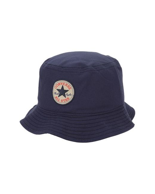 Converse | Blue 'classic' Bucket Hat for Men | Lyst