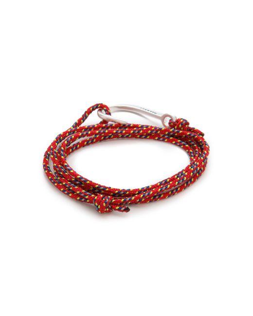 Miansai | Metallic Hooked Rope Wrap Bracelet for Men | Lyst
