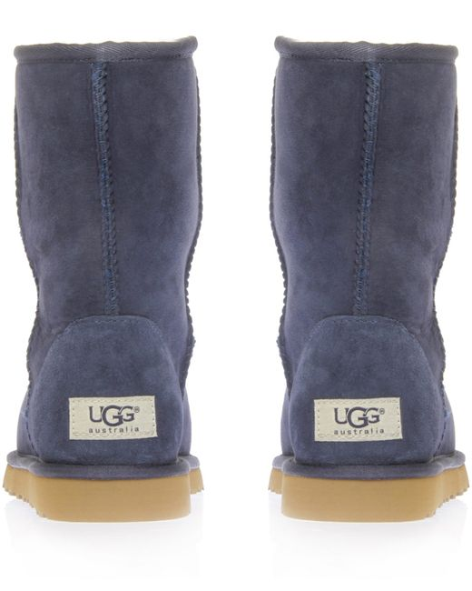 womens navy blue ugg boots