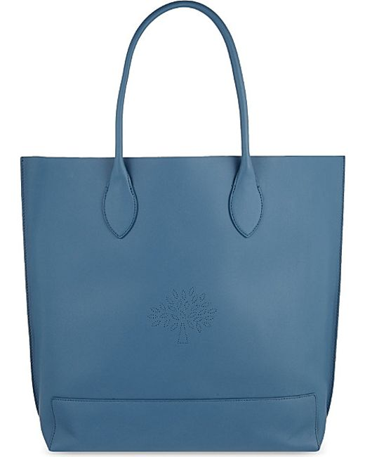 Mulberry | Blue Blossom Calf Tote | Lyst