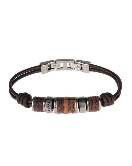 Fossil | Brown Bracelet for Men | Lyst