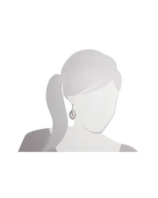 Lucky Brand | Metallic Sahara Dust Filligree Oblong Earring | Lyst