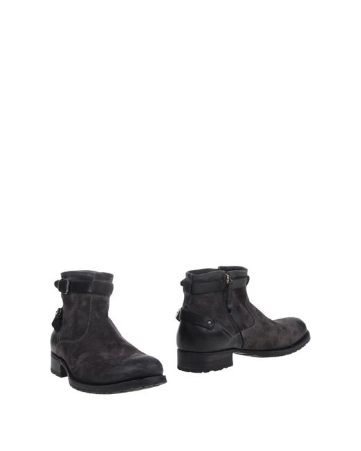 NDC | Gray Ankle Boots | Lyst