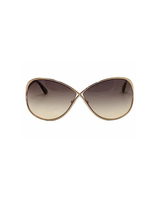 tom ford miranda sunglasses in gold lyst. Cars Review. Best American Auto & Cars Review