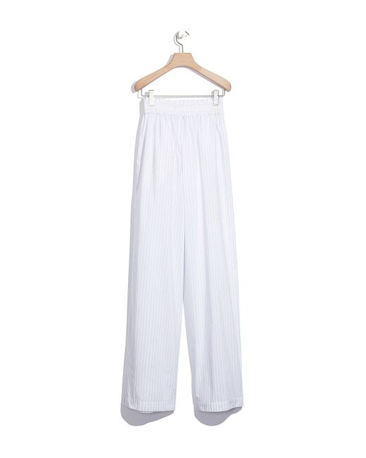 3.1 phillip lim Pinstriped Palazzo Pant in White