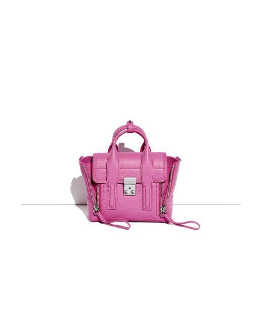3.1 Phillip Lim | Pink Pashli Mini Satchel | Lyst