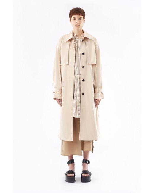 3.1 Phillip Lim Natural Trench Coat