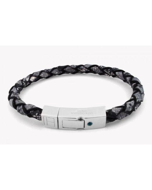 Tateossian | Gray Amazonia Silver Bracelet In Grey for Men | Lyst