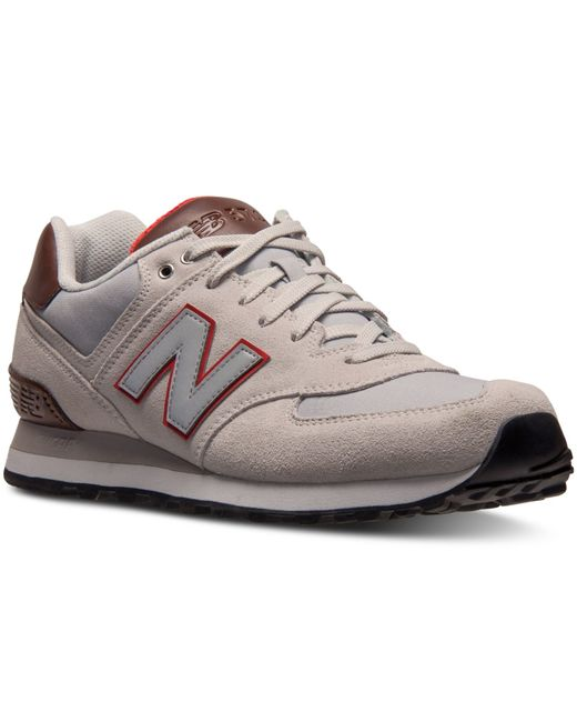 New Balance Men39s 574 Beach Cruiser Casual Sneakers From Finish Line In W