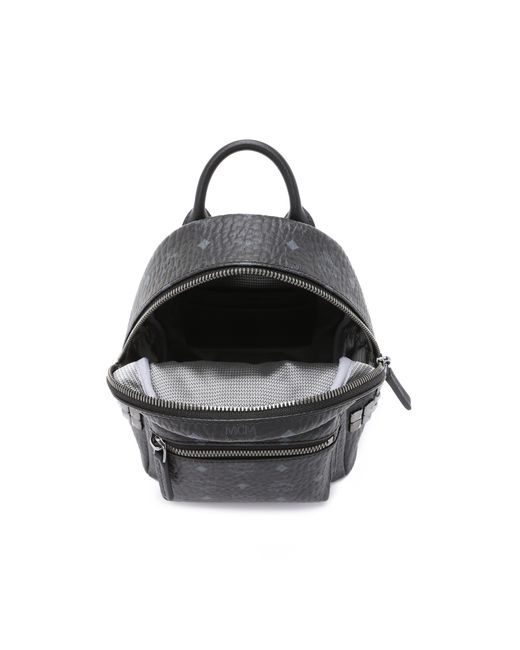 MCM | Black Stark Small No Stud Backpack | Lyst
