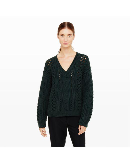 Club Monaco | Black Maritza Knit Sweater | Lyst