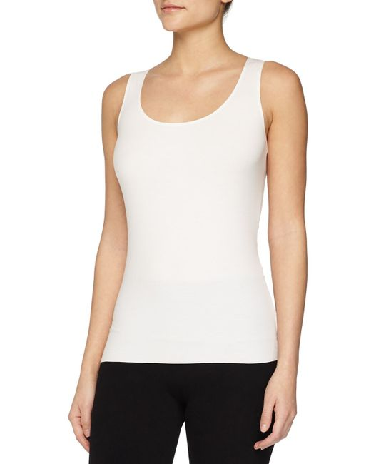 Wolford | White Pure Seamless Tank Top | Lyst