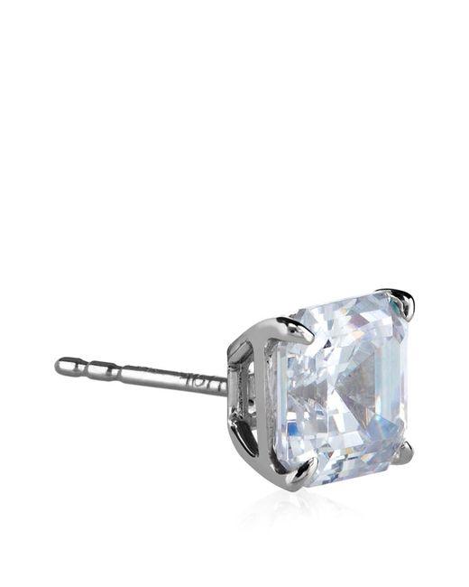 Carat* | Metallic Asscher Stud Earrings | Lyst