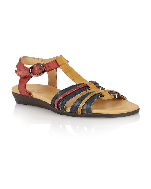 Lotus | Natural Nerissa Open Toe Sandals | Lyst