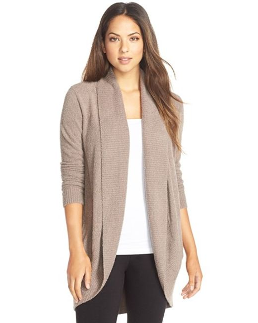 Barefoot Dreams | Brown Barefoot Dreams Cozychic Lite Circle Cardigan | Lyst