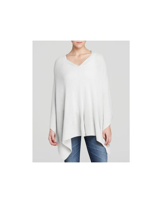 Magaschoni | White Three-way Cashmere Poncho | Lyst