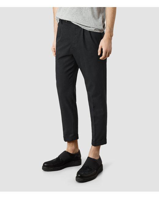 AllSaints | Gray Tallis Trouser Usa Usa for Men | Lyst